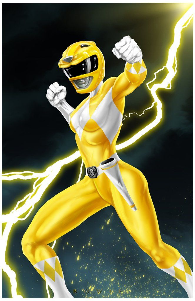 Yellow Ranger by Damon Bowie                                                                                                                                                                                 Más