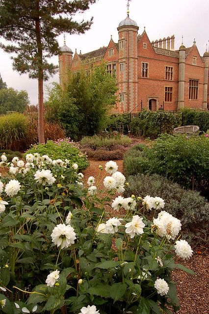 Charlecote Park. 16th c. country house, nr Wellesbourne, Warwicks. Administered by the National Trust since 1946 it is a Grade I listed bldg & was built in 1558 by Sir Thomas Lucy. The general outline of the Elizabethan house remains, nowadays it is mostly Victorian. In 1823, George Hammond Lucy inherited & set about recreating it to its original style. In the middle of the 19th c, the Fairfax Baronets inherited when the male line of the Lucy family failed on the death of Henry Spencer Lucy.