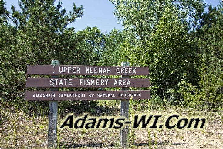#publicland Upper Neenah Creek State Fishery Area is located in Adams County Wisconsin here you can find Info, Maps, Photos, Aerial Images plus Area Information like Lakes, Public Land, Townships and nearby communities. #adamscountywi