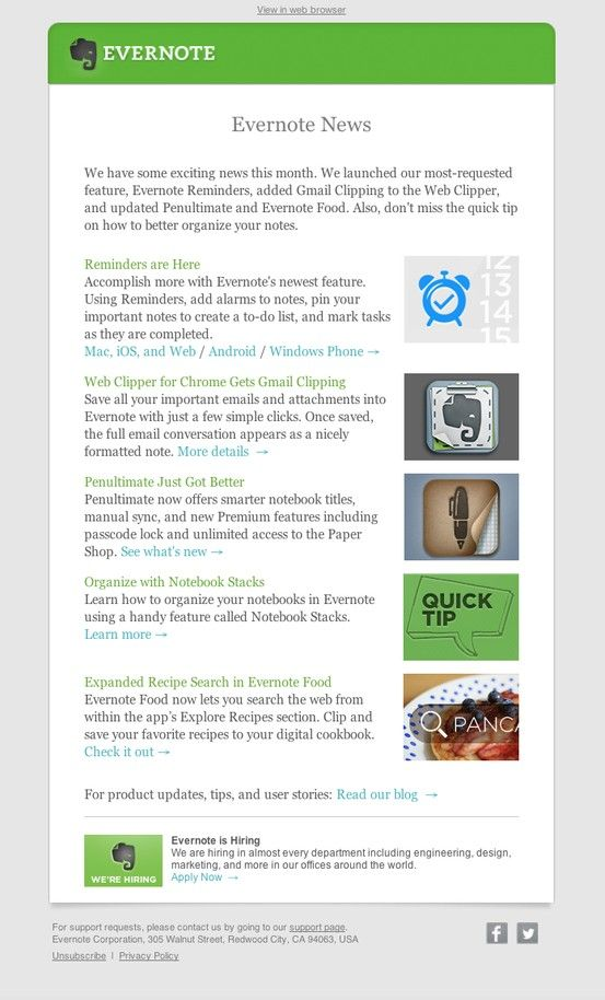 Best Newsletters Images On   Email Newsletter Design