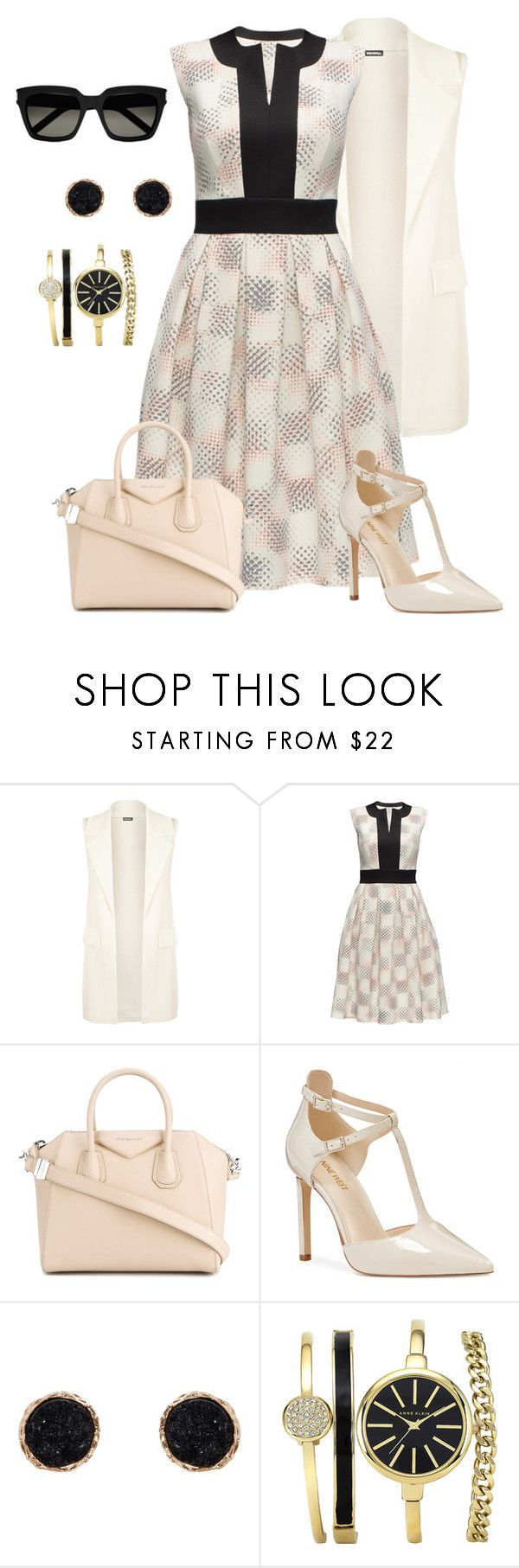 """""""Untitled #1699"""" by beng-gallo on Polyvore featuring WearAll, Lattori, Givenchy, Nine West, Humble Chic and Yves Saint Laurent"""