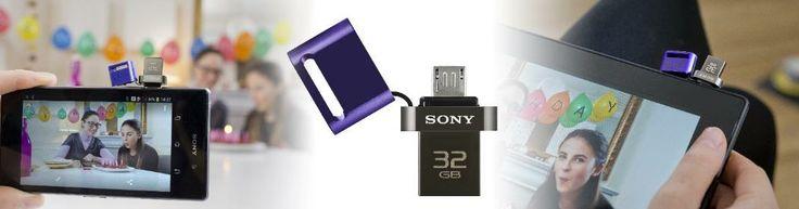 clé USB pour smartphone et tablette @Sonja Champness