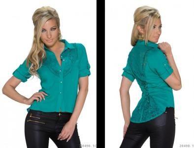 Thebestfashion Sznurowana Koszula 36 S Sale 5555245266 Oficjalne Archiwum Allegro Women S Top Fashion Tops