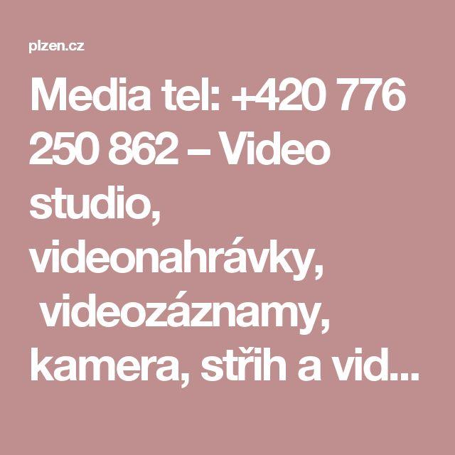 Media tel:+420 776 250 862 –Video studio, videonahrávky, videozáznamy, kamera, střih a video efekty, fotografické práce. Zhotovení portrétů, fotografií produktu, výrobku, interiéru, exteriéru. Zhotovení webových stránek Plzeň. Zhotovíme propagační video pro firmy, vyrobíme reportáž vtelevizní kvalitě svlastní reportérkou, vytvoříme virtuální studio podle požadavků zákazníka. Propagace firmy formou rozhovoru se zástupcem společnosti před kamerou. Natočíme reklamu a zprostředkujeme její…