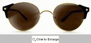 Granada Round Clubmaster Sunglasses - 104 Tortoise