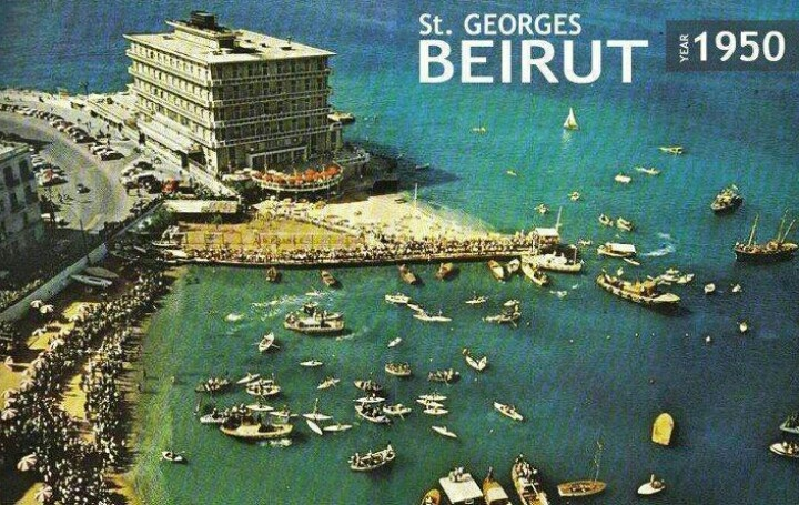 Beirut, lebanon St Georges Hotel http://www.stgeorges-yachtclub.com/