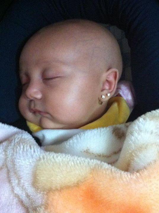 10 best earring baby girl images on Pinterest  Newborn
