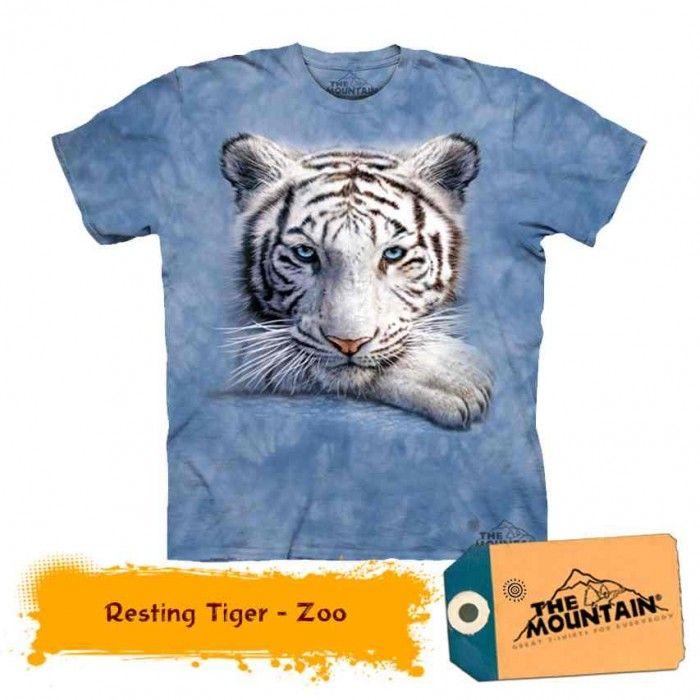 Tricouri The Mountain – Tricou Resting Tiger