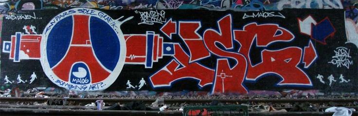 RAP FR et FOOT: Le graffiti dans le football
