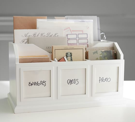 Bedford Photo Caddy | Pottery Barn