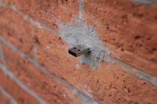 Des données USB dans les murs de nos rues !