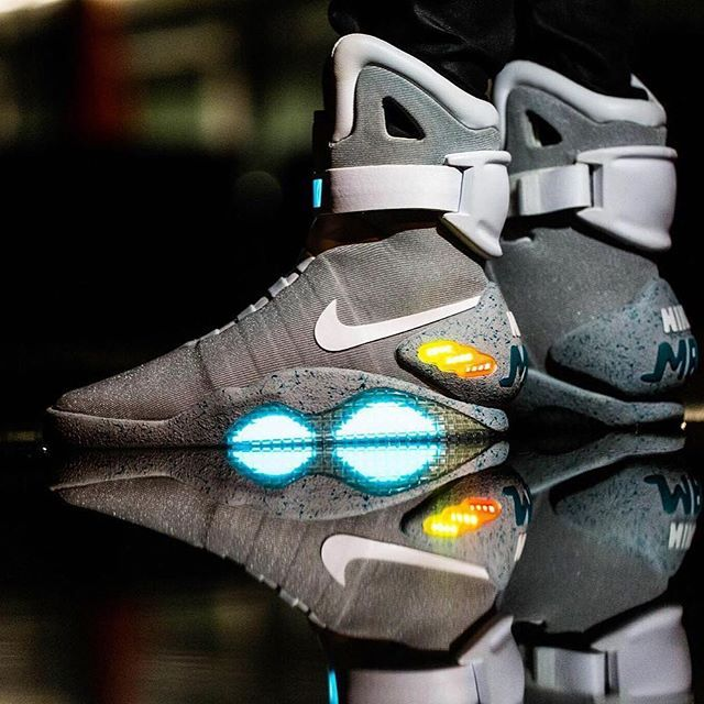 #hypefeet: @rennie_ds in the very rare @nike Air Mags Photo: @