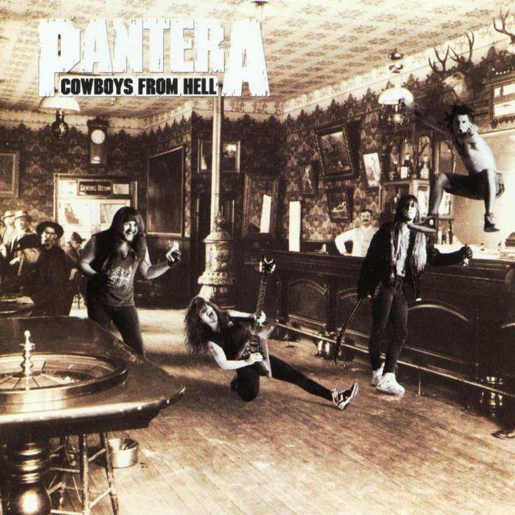 Artist: Pantera  Album:  Cowboys From Hell