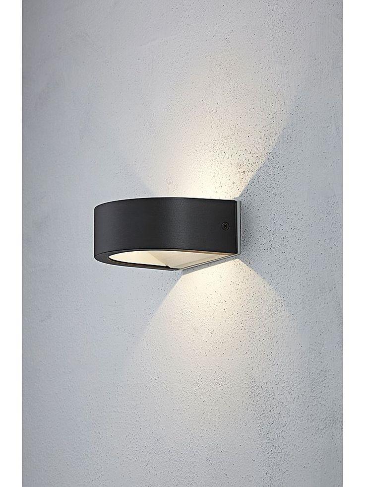 Svart utomhuslampa - Konstsmide Modena vägglampa