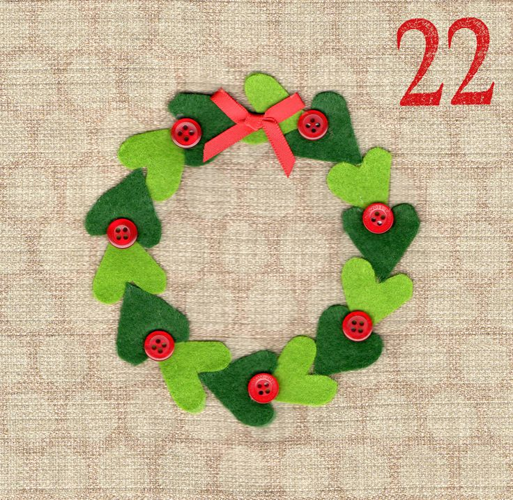 May I Design Day 22 Wreath http://may-i-design.blogspot.co.uk/2014/12/advent-challenge-day-twenty-two.html