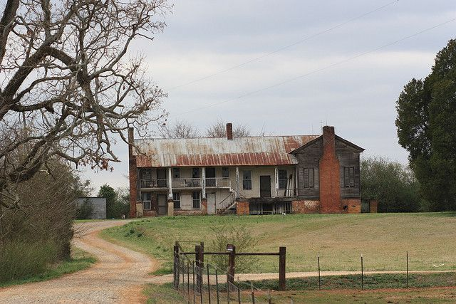 old pictures of southern plantations | old southern plantation this is an old southern plantation near ...