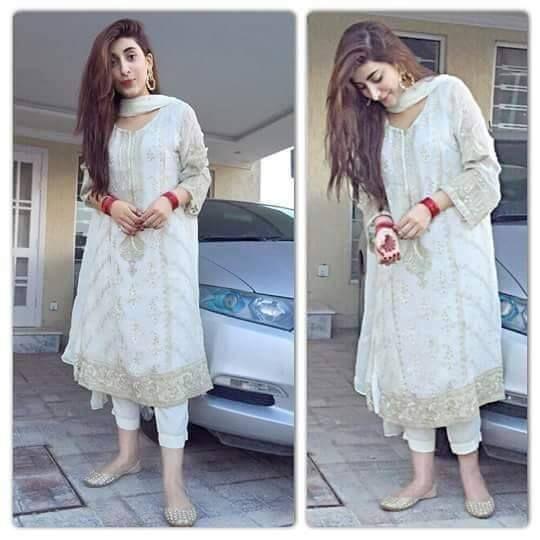 Maria b white dresses 7 inches