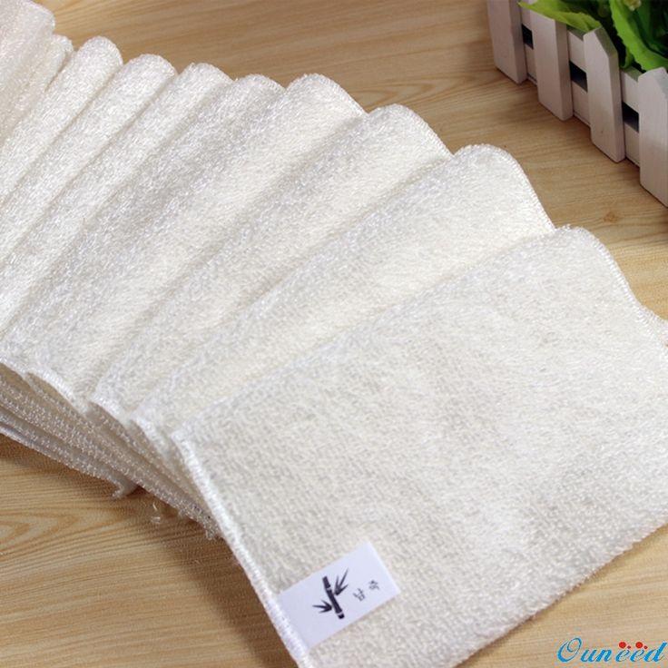 5 PCs Heureux Cadeaux Haute Efficacité Anti-graisse Plat Tissu Fiber De Bambou À Laver Serviette Magique de Cuisine De Nettoyage Essuyage