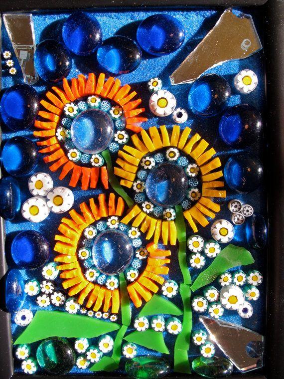 Pop Art Mosaic 17 by MosaicsByLaCanfora on Etsy, $55.00