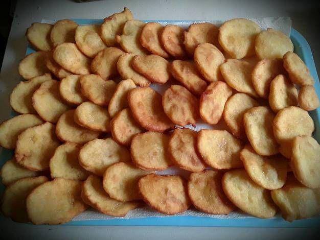 Krumplis pogácsa (olajban sült)
