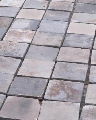 antique grey terracotta tiles