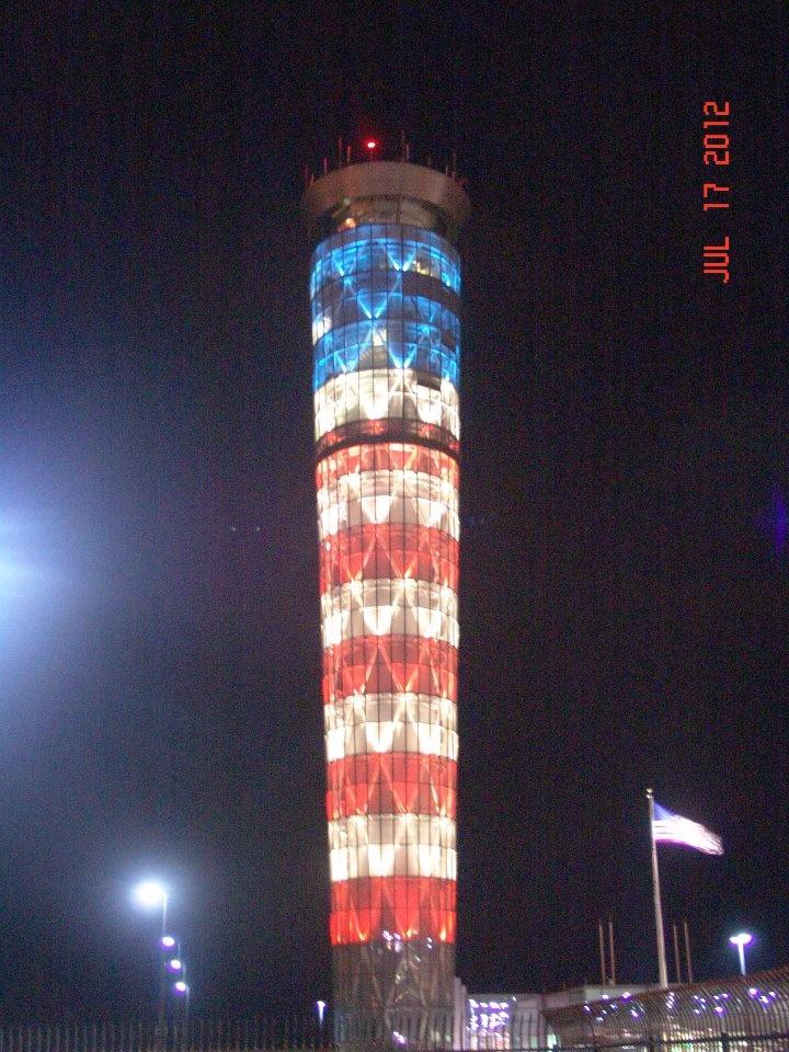 Dayton, Ohio Air Traffic Control Tower