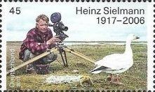 [The 100th Anniversary of the Birth of Heinz Sielmann, 1917-2006, Tipo DGU]