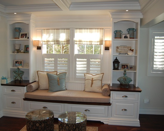 Spaces Window Seat Shelving Design Pictures Remodel Decor And Ideas Page 15