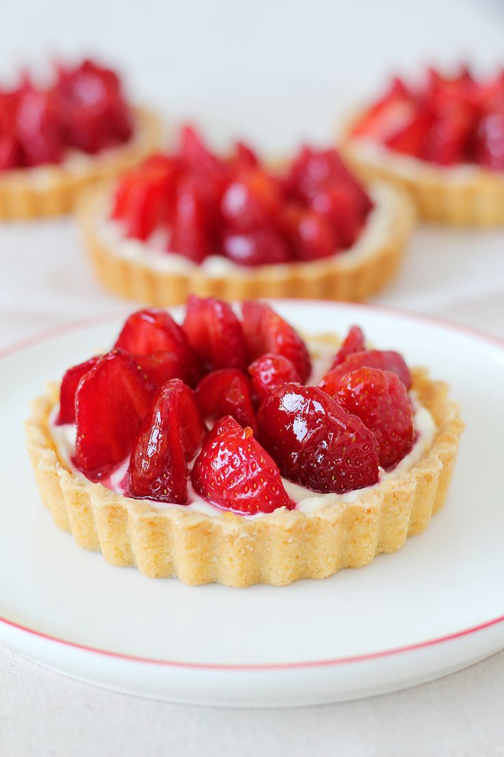 17 Best ideas about Strawberry Tarts on Pinterest | Eat ...
