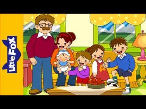 Engels liedje voor kleuters: The family