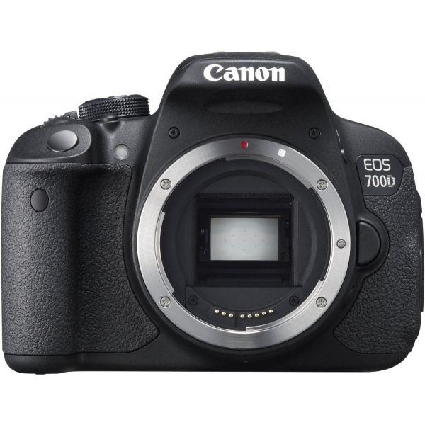 #Canon EOS 700D digitális #tükörreflexes #fényképezőgép váz  Az EOS 700D előnyei: - Jó minőségű, alacsony zajszintű, részletgazdag képek - 18 megapixeles fotók és Full-HD videók - A Movie Servo AF funkció felvételkészítés közben fókuszban tartja a mozgó témákat - Változtatható képszögű Clear View LCD II érintőképernyő - Gyors és egyszerű képkészítés az Intelligens jelenetérzékelő automatikával