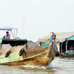 Mekong boat with eyes. More details at http://www.chaudoctravel.com/2013/03/chau-doc-pictures/