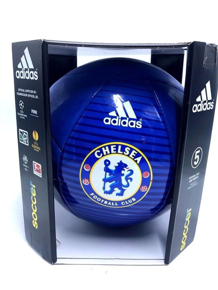 New Adidas Performance Chelsea FC Soccer Ball Football Adults and Kids Size 5 #Adidas