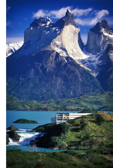 Hotel Salto Chico, Patagonia. Yes please!