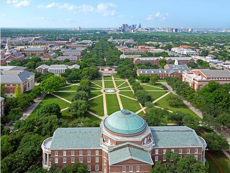 Southern Methodist University The 20 Most Beautiful College Campuses in America - Condé Nast Traveler