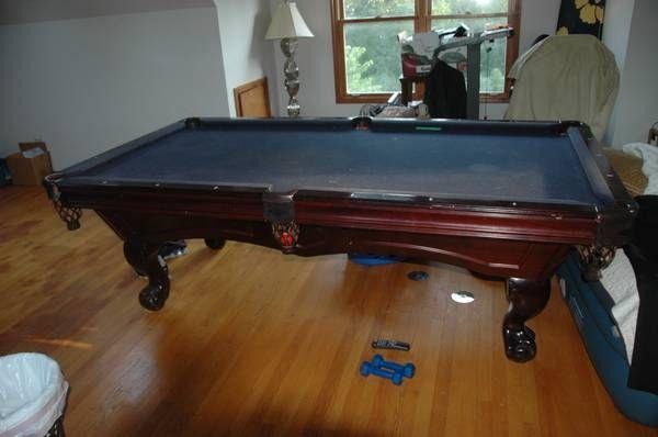 American Heritage Madison Pool TablePool Table Chicago Used Slate - Brunswick madison pool table
