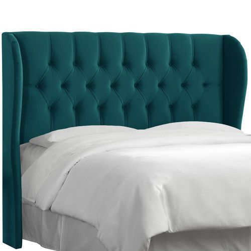 Found it at Wayfair - Mystere Tufted Wingback Headboard