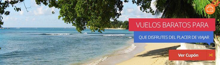 ¡Disfruta del placer de viajar! Revisa los vuelos baratos a diferentes destinos en http://cupon.com.co/categorias/viajes-y-ocio y descansa como te mereces.