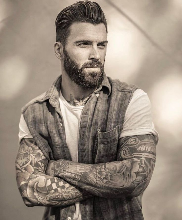Bearded Rebel Levi Stocke