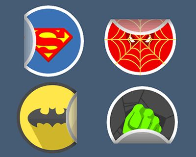 Sticker.js – Sticker Effect with JavaScript  #javascript #sticker #effect #library