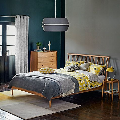 Buy John Lewis Ingrid Easy-to-Fit Shade, Grey Online at johnlewis.com