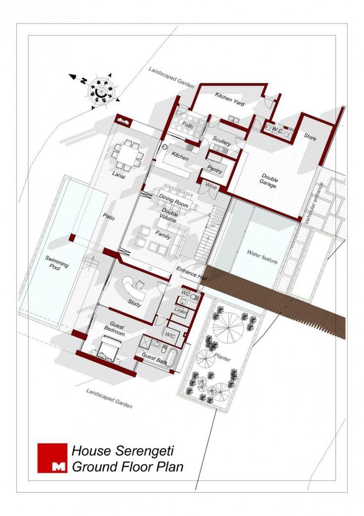 Serengeti House by Nico van der Meulen Architects   HomeDSGN