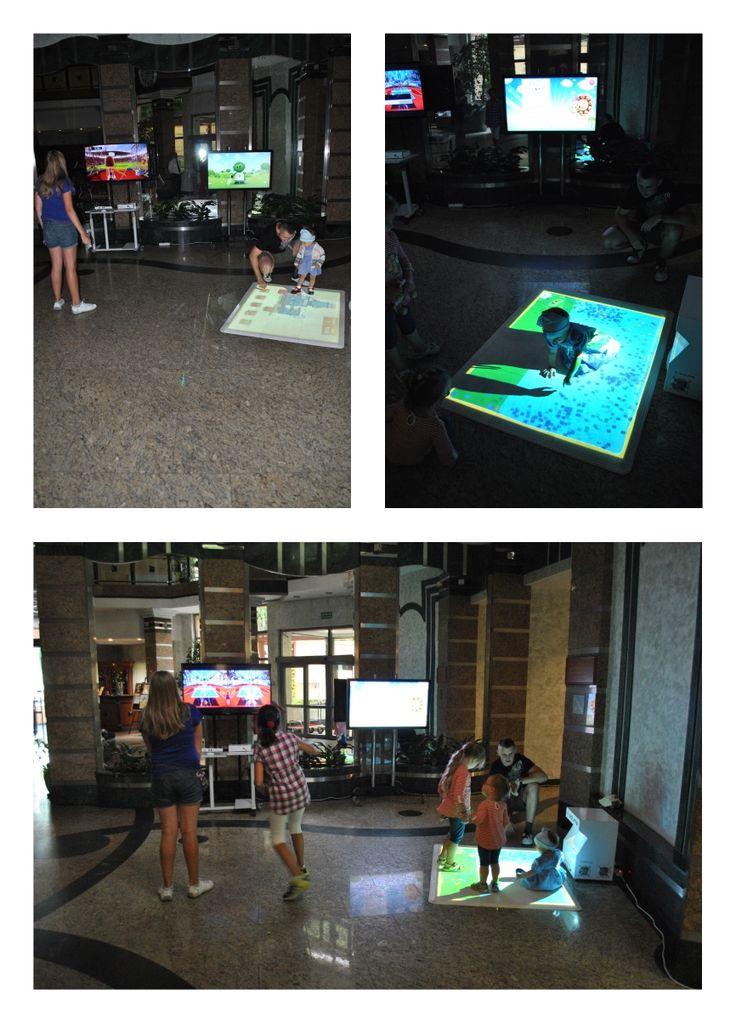 Pierwsze dzieciaczki już testują nowe atrakcje! ;) Zapraszamy do interaktywnej strefy zabawy! :D