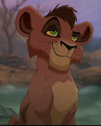 Kovu <3 :) from the Lion King 2. One of my all time favorite characters.