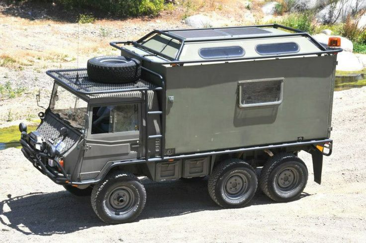 Pinzgauer, One of my all time favorites. Ambulance version, turn to a Expedition Vehicle