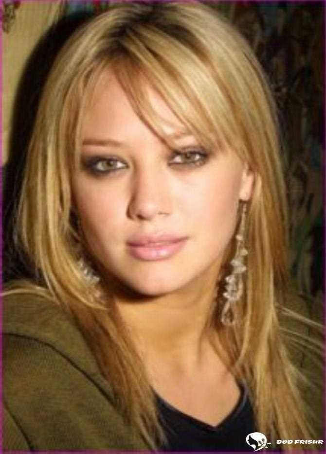 Mittlere Gerade Frisuren Mit Seitlichem Pony Side Bangs With Long Hair Side Bangs Hairstyles Medium Length Hair Styles