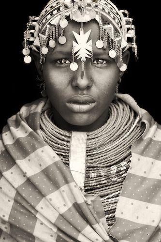 samburu girl from wamba, kenya  By abgefahren2004     Mario Gerth
