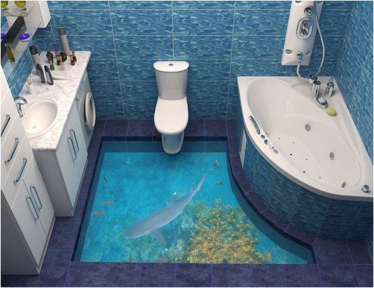 3d art bathroom floor best catalog of 3d floor art and 3d flooring from 3D Art Bathroom Floor
