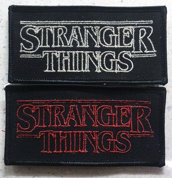 Stranger Things patch 80's sci-fi horror Goonies by inkedupmerch