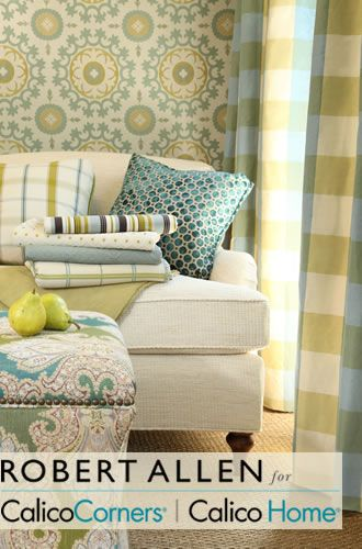 Robert Allen Fabrics for Home Decor. Image: calicocorners.com.